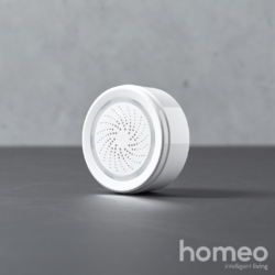 Homeo smart home alarm sirene WiFi - front