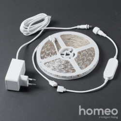 Homeo smart home LED bånd WiFi (RGBW) 5 meter - alle dele
