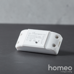 Homeo smart switch (relæ) WiFi m. timer + tænd/sluk