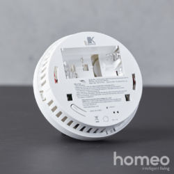 Homeo smart home røgalarm WiFi - bagside