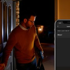 Philips Hue Lucca Piedestal 1X9.5W - Antrazit