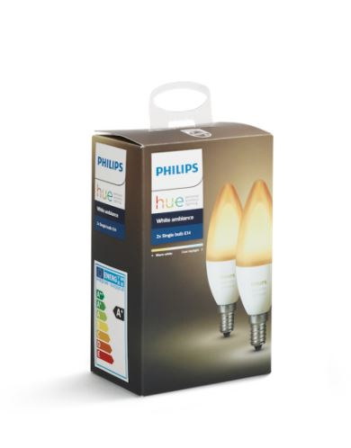 Philips Hue White 5.5W E14 2-Pack