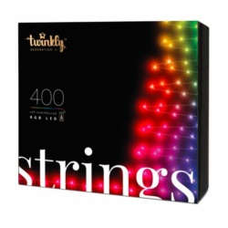 Twinkly Light String 400LED RGB BT+WiFi, Gen II