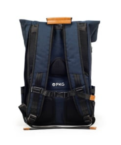 "PKG Brighton II Foldtop Backpack for up to 16"" laptops - Navy/Tan"