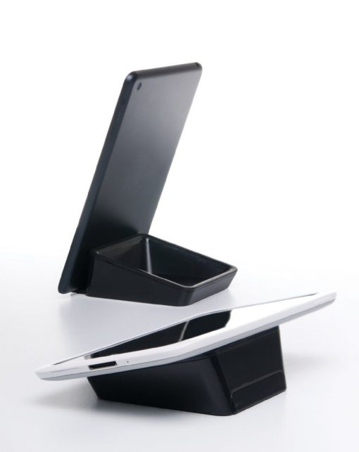 Bluelounge Casa - Elegant Set For All Tablets With Space For Small Items Vit