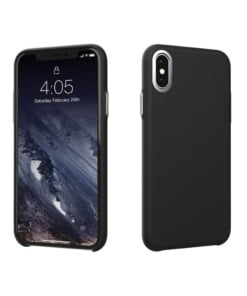 Hitcase Ferra Leather for iPhone XS Max Black