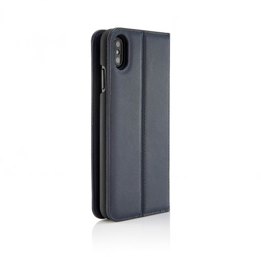Pipetto Magnetisk Cover M. Pung Til Iphone Xs Max - Navy Blå