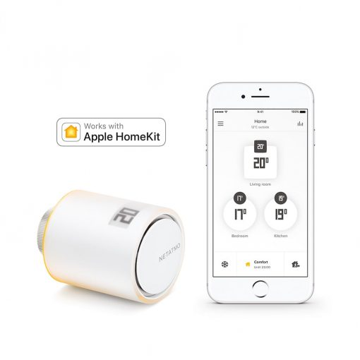 Netatmo Smart Radiator Valves (1 Pack)