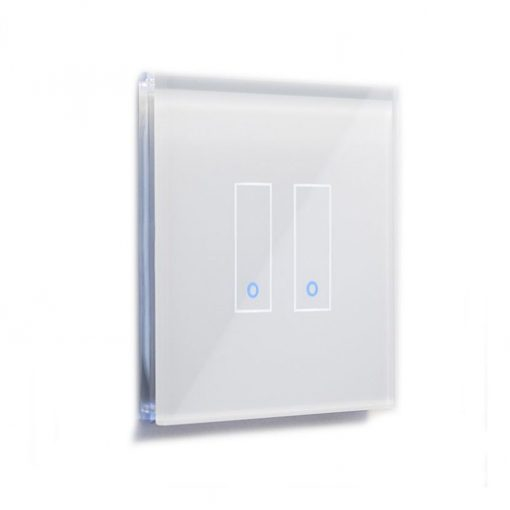 Iotty Smart Switch Lswe22 (Double-Gang) - The Smart Switch That Innovates Your Home. White