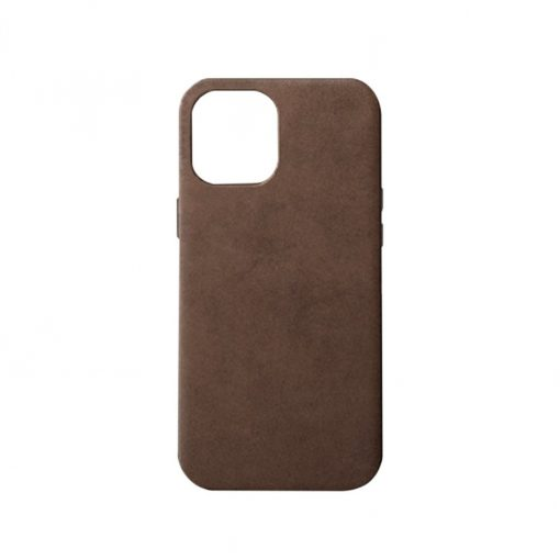 Journey Leather Case For Iphone 12 Pro Max With Magsafe Dark Brown