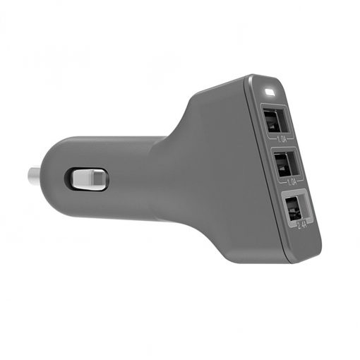 Kanex 3 Port Cla Charger (2.4A/1A/1A) Space Grey