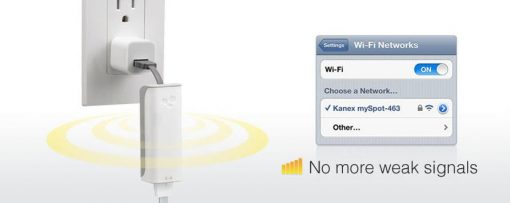Kanex Myspot - Wlan Access Point In Pocket Size For The Hotel, 54Mbps, 802.11B / G
