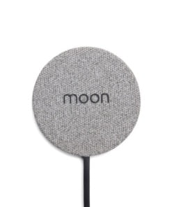 Moon Wireless Charging Pad -  The worlds smallest and thinest charging Pad Gray