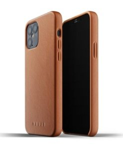 Mujjo Full Leather Case for iPhone 12/12 Pro Tan