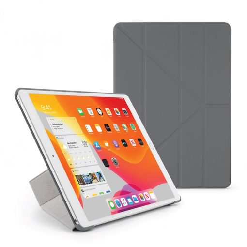 Pipetto Ipad 10.2&Quot; 2019 Origami Cover M. Tpu Ryg - Grå