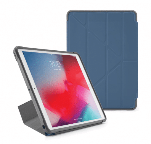 Pipetto Ipad 10.5&Quot; 2019 Origami Cover - Navy/Grå