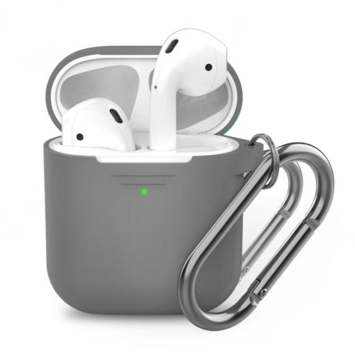 Podskinz Keychain Series - Protective Silicon Cover For Your Airpods Earl Grey