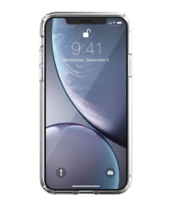 Just Mobile TENC Air - Unique self-healing case for iPhone XR Clear