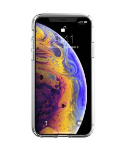 Just Mobile TENC Air - Unique self-healing case for iPhone X/XS Clear