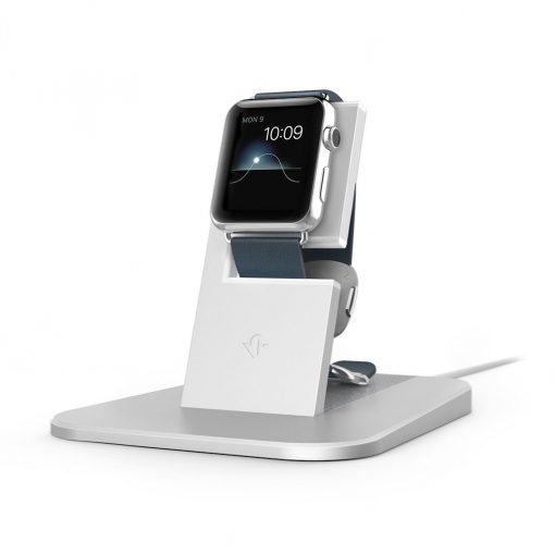 Twelve South Hirise For Apple Watch - Bedroom Frame You Want To Your Apple Watch Silver