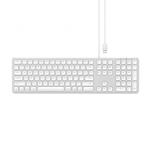 Satechi Keyboard With Wired Usb Connection - Nordic Layout Space Gray