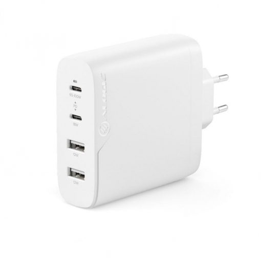 Alogic Rapid Power 4-Port 100W Gan Charger Inc. 2M Usb-C Charging Cable