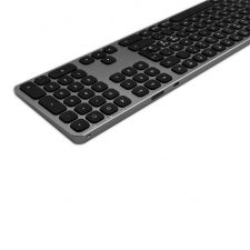 Satechi Wireless Keyboard For Up To 3 Devices - Nordic Layout Space Gray