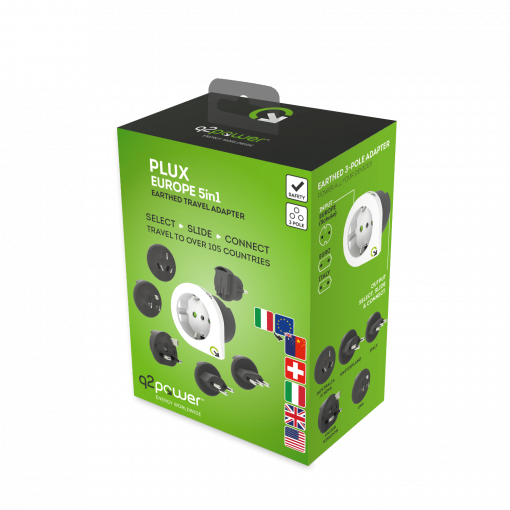 Q2Power Qplux 5In1 Europe To World