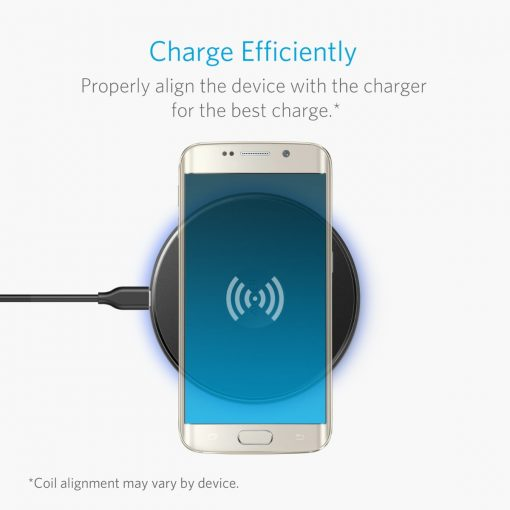 Anker Powertouch 5W Trådløs Qi Oplader, Sort