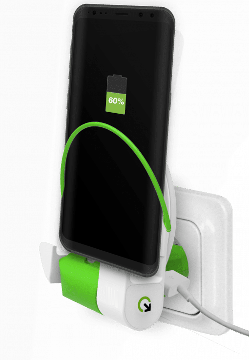 Q2Power Dock And Charge Powerbank Eu Type C