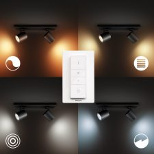 Philips Hue Runner 2X5W Spots, Bluetooth - Sort