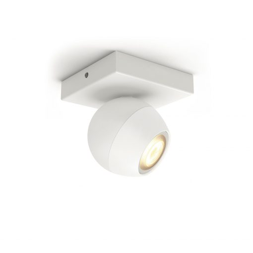 Philips Hue Buckram Single Spot White 1X5W 230V Bt