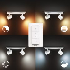 Philips Hue Runner 2X5W Spots, Bluetooth - Hvid