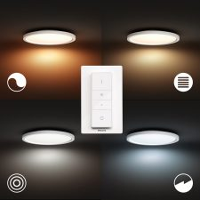 Philips Hue Aurelle Panel Rd 24.5W Loftslampe Bt Ø405