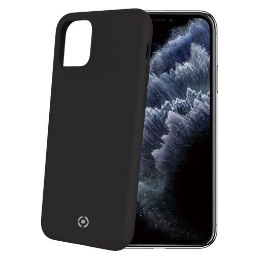 Celly Feeling Iphone 11 Pro Silikone Cover, Sort