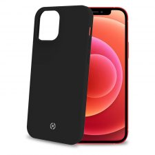 Celly Feeling Iphone 12/12 Pro Silikone Cover, Sort