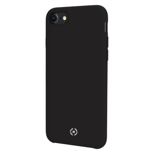 Celly Feeling Iphone 6/7/8/Se Silikone Cover, Sort