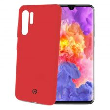 Celly Feeling Huawei P30 Pro Silikone Cover, Rød