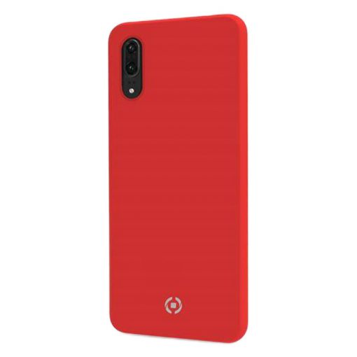 Celly Feeling Huawei P30 Silikone Cover, Rød