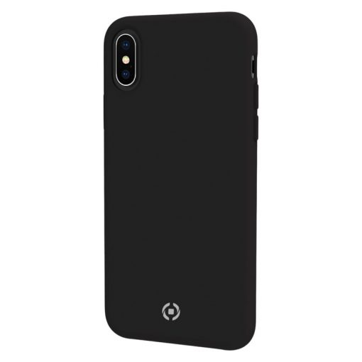 Celly Feeling Iphone X/Xs Silikone Cover, Sort