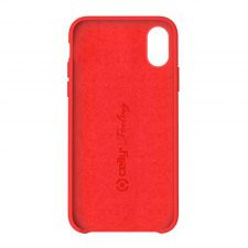 Celly Feeling Iphone Xr Silikone Cover, Rød