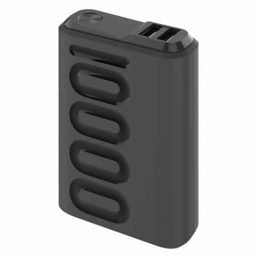 Celly 10.000 Mah 18W Usb-C Pd + Usb-A Quick Charge 3.0 Powerbank, Sort