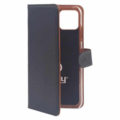 Celly Wally Iphone 11 Pro Cover, Sort/Cognac