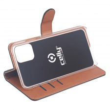 Celly Wally Iphone 12 Pro Max Cover, Sort/Cognac